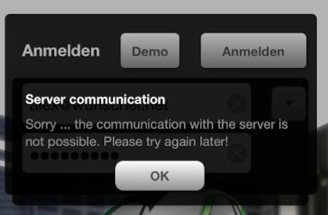Server-Probleme