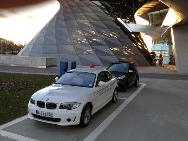 Ladestation an der BMW Welt